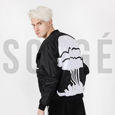 Original #SCOGE Fallout bomber #jacket . No longer available but it's legacy continues in our Fallout2 embroidered #tshirt available now at www.SCOGE.co (link in bio) || #mensfashion #menswear #streetfashion #streetstyle #streetwear #design #bomber  #fashion #nyc #createanddestroy #explosion www.scoge.co NYC Luxury Streetwear  Streetstyle  High Street