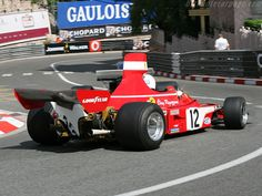 Clay Regazzoni | Ferrari 312 B3 | Monaco Grand Prix