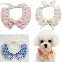 New Dog Fake Collar Princess Cat Puppy Lace Necklace Tie-On Strap Pets Supplies Productos especializados para el bichon maltes.  #bichonmaltes #maltese #puppy #dog