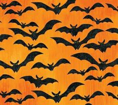 - Fabric from Stonehenge Fright Night Halloween Fabric, Spooky Halloween, Happy Halloween, Halloween Decorations, Halloween Backgrounds, Halloween Wallpaper, Haunted Attractions, Paper Cones, Fright Night