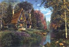 Fairytale Cottage Jigsaw Puzzle