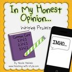 Common Core Aligned Opinion Writing for grades 1st, 2nd, and 3rd.    Included in this packet:  *Vocabulary Pages  You will find a poster to introduce w...