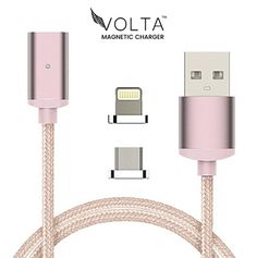 Volta Magnetic Charging Cable is a revolutionary magnetic USB cable which makes charging easy! Volta Magnetic Charging Cable is designed for both Android  and iPhone.