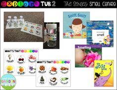 Explore Tubs for the Five Senses {Smell Centre} - First Grade Garden