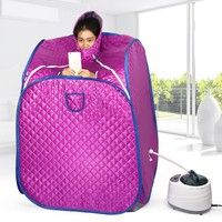 Description: 100% brand new and high quality Your own portable steam sauna tent. Mobile and car