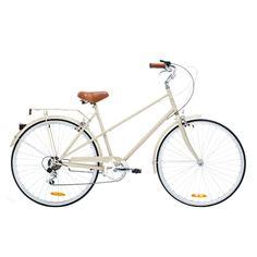 Reid Vintage Mixte 6-Speed Bicycle - Coffee