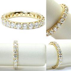 18K Yellow gold eternity wedding band. #wedding #weddingring#diamonds #engagementring#engagement #ring #pretty #diamondring#diamonds #awesome #vancity #ido #love #flawless #bridal#bride #theknot #engaged #vancouverdiamonds #howmuch #fashion #richmond #highfashion #jewelry#couture #bespoke #boutique #Vancouver