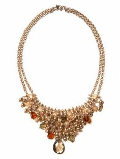 I want to remake this, but it may be the only necklace I have ever seen that would cost less to buy then to make yourself. Especially considering the labour