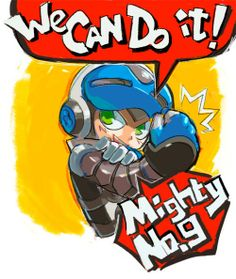Mighty No. 9. Megaman. Games. Kickstarter.
