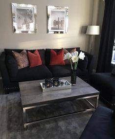 Home interior Design Videos Living Room Apartments - - - Living Room Decor Cozy, Cozy Living, Home Living Room, Apartment Living, Living Room Designs, Apartment Ideas, Clean Living, Small Living, Luxury Homes Interior