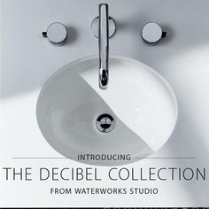 @gingersbath unveils the Decibel Collection by Waterworks . . http://ift.tt/2DW7AIF . Link to blog in my IG bio
