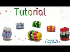 How to Make Macrame Beads DIY Perles de Macramé - YouTube