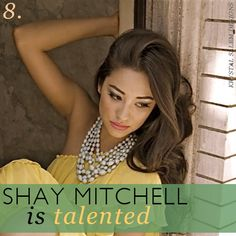 Shay Mitchell is Talented
