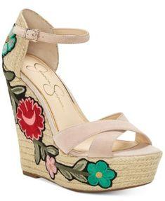 1e418d7bf83 Jessica Simpson Apella Patch Wedge Sandals   Reviews - Sandals   Flip Flops  - Shoes - Macy s