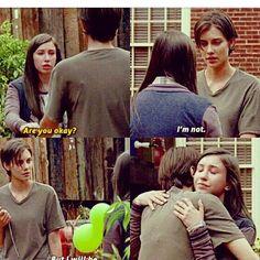"Enid & Sasha | ""Go Getters"" | S7E5 | The Walking Dead (AMC)"