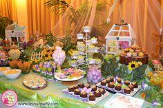 Mesa dulce Campanilla Boda - Wedding Tinkerbell Sweet table