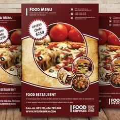 Restaurant Food Flyer Restaurant Menu Template, Restaurant Flyer, Restaurant Menu Design, Seafood Restaurant, Restaurant Recipes, Menu Flyer, Coffee Menu, Food Menu, Prints For Sale