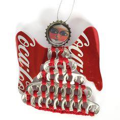 UPAVIM Large Pull Tab Angel Ornament