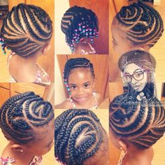 Kinetra's gorgeous braided style on her daughter @bubeultimate - http://www.blackhairinformation.com/community/hairstyle-gallery/braids-twists/kinetras-gorgeous-braided-style-daughter-bubeultimate/