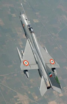 Love the line of the MiG-21