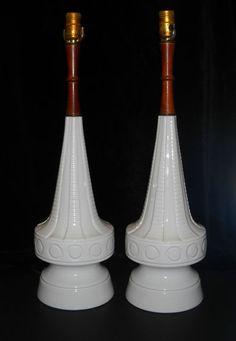 mid century modern lamps.