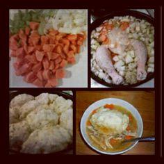 homemade chicken soup & dumplings!