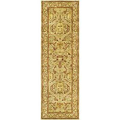 @Overstock - Ideal for use in a hallway, this beautiful handmade wool rug is constructed of New Zealand wool for added beauty. It features a variety of neutral tones, which will coordinate with many decors, and the short pile will add comfort to solid-surfaces.http://www.overstock.com/Home-Garden/Handmade-Mahal-Light-Brown-Beige-N.Z.-Wool-Runner-26-x-10/4490617/product.html?CID=214117 $147.79