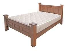 Hatfield Panel Slat Bed - King