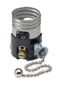 Leviton Pull Chain Socket Leviton R600972600C Porcelain Grounded Pull Chain Lampholders