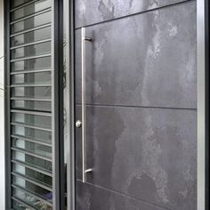 Aluminium & Graphite Viper The Effective Pictures We Offer You About entrance plan A quality picture can tell you many things. You can find the most beautiful pictures that can be presented to you abo Modern Entrance Door, Modern Exterior Doors, Modern Front Door, Front Door Entrance, Door Entryway, House Front Door, House Doors, Entry Doors, Modern Garage