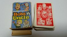 BOBSY'R UNCLE VERY RARE VINTAGE CARD GAME WADDINGTONS Kids Cards, Vintage Cards, Card Games, Phone Cases, Ebay, Vintage Greeting Cards, Phone Case, Playing Card Games