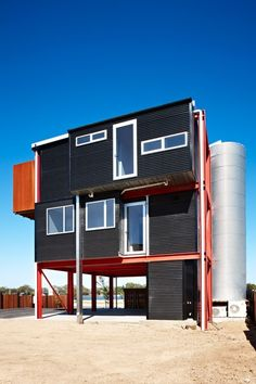 Read more on Grand Designs Australia: Series 2 · Episode 2 Grand Designs New Zealand, Grand Designs Australia, Church Conversions, Urban Setting, Shipping Container Homes, Industrial House, Home Studio, Tiny House, Building A House