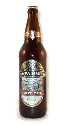 Cerveja Napa Smith Lost Dog, estilo American Amber Ale, produzida por Napa Smith Brewery, Estados Unidos. 7.2% ABV de álcool.