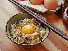 Tamago gohan—rice mi