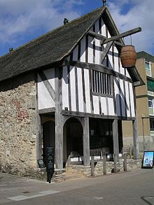 Medieval Merchant's House in Southampton, England, 1290. This was actually better than having to live on the streets are people throw their excrement on to the saldwalks, sometimes it would land on them. This is one of the reasons the black plague was such a big problem along with many other sicknesses.