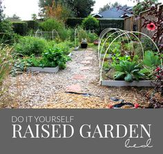 DIY Raised Garden Bed - Hello Nature
