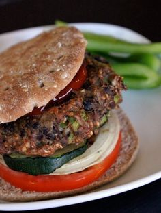 Turkey and Black Bean Burgers   GreenLiteBites