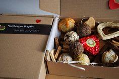 Valentins-Box für Hunde mit einem Herz für Frauchen))