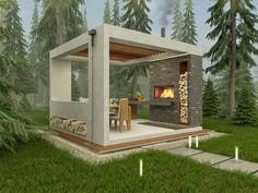 52 Trendy Ideas For Backyard Gazebo Layout Backyard Gazebo, Backyard Sheds, Backyard Patio Designs, Pergola Patio, Gravel Patio, Patio Planters, Wood Patio, Concrete Patio, Diy Patio