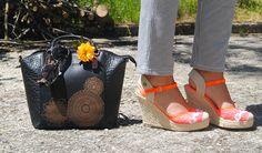 lollipops, bag, shoes,