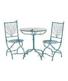 Blue Branch Outdoor Bistro Set