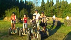 Having fun with a familly from Holland!  Segway X2, Ocitània, Gualta, Girona, Costa Brava, Empordà, Catalonia, Spain. www.ocitania.cat