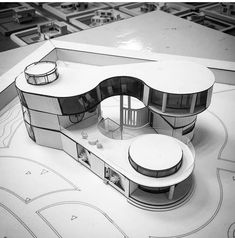 Nice send us your projects models renders works sketches the project of a family villa architecture villa archdrawing house Architecture Site, Concept Models Architecture, Maquette Architecture, Architecture Model Making, Futuristic Architecture, Interior Architecture, Barcelona Architecture, Landscape Architecture, Arch Model