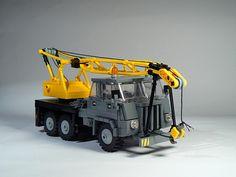 Star660.001 | My Star got a a few changes. I did a new grill… | Flickr Lego Tractor, Lego Truck, Lego Crane, Lego Models, Cool Lego, Lego Creations, Lego City, Toys, Lego Vehicles