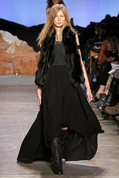 Loose and sexy  Band of Outsiders Fall RTW 2012