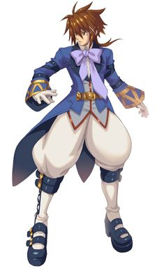 Elementalist Male from Wild Arms XF