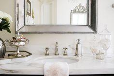 Elegant Master Bathroom Remodel-sink details