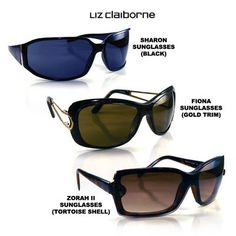 Liz Claiborne Villager Women's Sunglasses - $5.99. https://www.tanga.com/deals/006157c1f6/liz-claiborne-villager-women-s-sunglasses