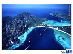 The Fantasy island of Koh Phi Phi. My favorit place to go in Thailand. Awsome place.