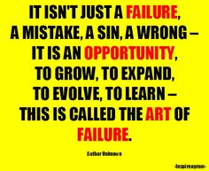 Art of Failure